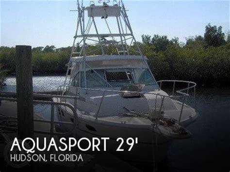 pontoon boats for sale hudson florida for sale used 1988 aquasport 290 tournament master in