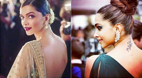 deepika padukone tattoo removed deepika padukone still has rk photos from
