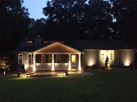 outside security lighting for homes 6 reasons for outdoor lighting kg landscape management