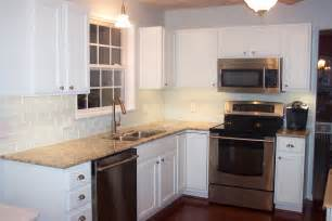 Pictures Of Backsplash In Kitchens by Kitchen Backsplash Subway Tile Home Design Inside
