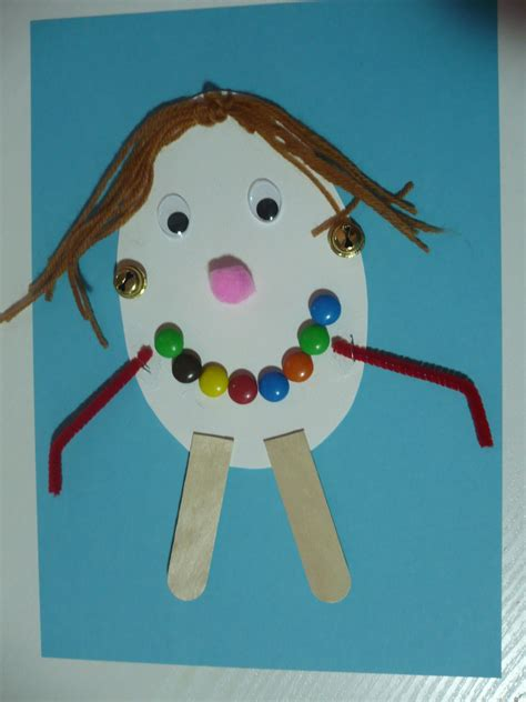 craft ideas for 5 five senses activity for sight family crafts