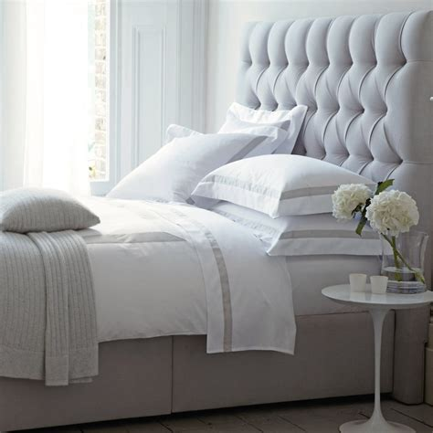 the white company headboards richmond bed from the white company home decor