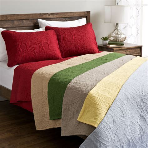 solid color quilts fashion solid quilt set ebay