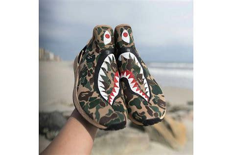 Adidas Nmd Xr1 Bape adidas nmd xr1 quot bape shark quot custom