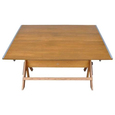 Vintage Drafting Tables For Sale Vintage Mid Century Industrial Drafting Table By Anco Bilt Of Ny For Sale At 1stdibs