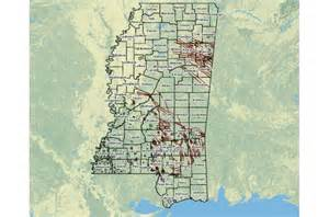 interactive map of and gas resources in mississippi