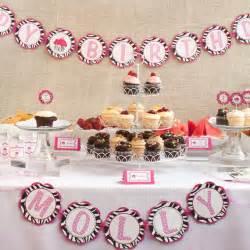 items similar to zebra happy birthday banner pink zebra