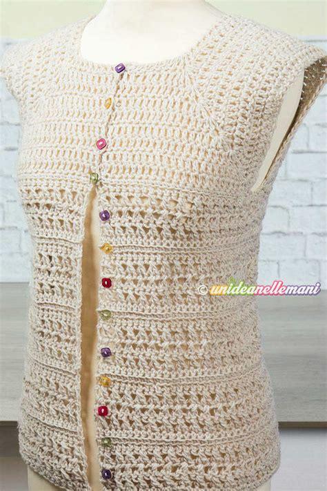 fiori maglia e uncinetto maglia top all uncinetto tutorial con pdf da stare