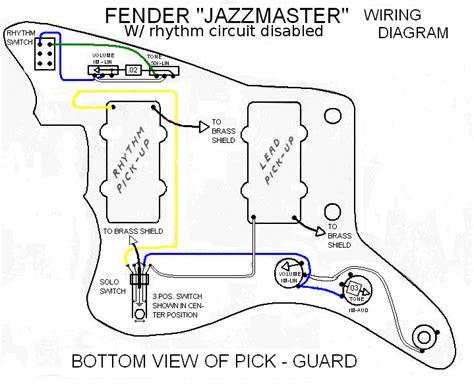 kurt cobain fender mustang guitar wiring diagram kurt