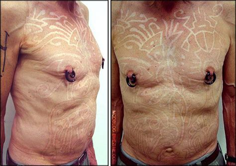 body branding tattoo scarification before and after these gorgeous large