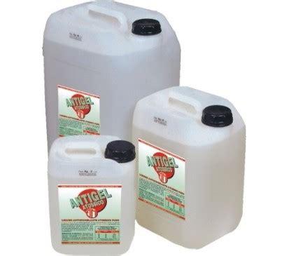 glicole propilenico alimentare liquido antigelo atossico per impianti di riscaldamento