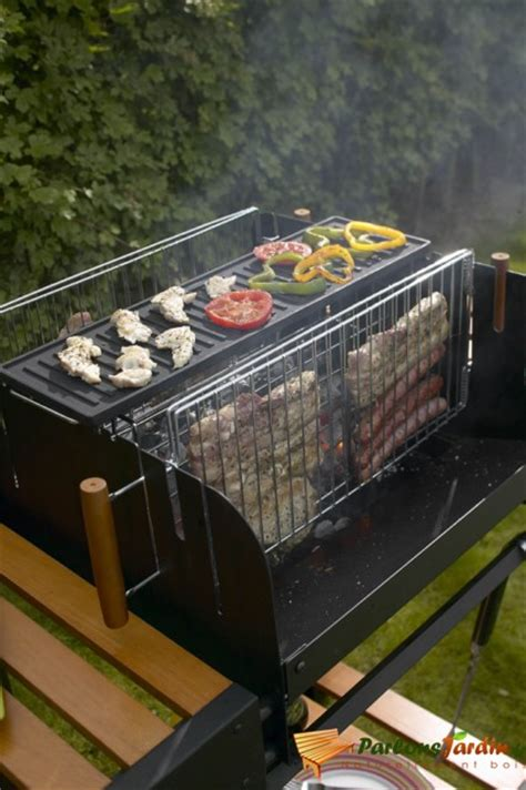 Grill Pattes Lisieux by Barbecue 224 Charbon De Bois Vertical En Titane