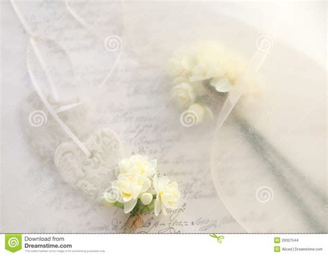Wedding Background Themes by Bridal Theme Background Of Hearts And Flowers Stock Photo