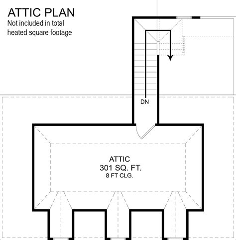 attic bedroom floor plans amara house 9622 4 bedrooms and 3 baths the house