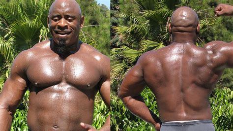 Big Black big don l superheavy black bodybuilder beats cancer