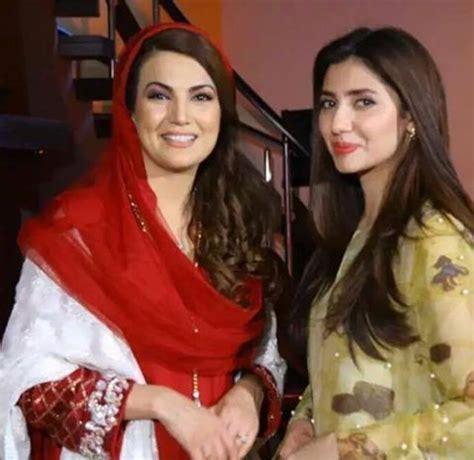 reham khan with mahira khan arts & entertainment images