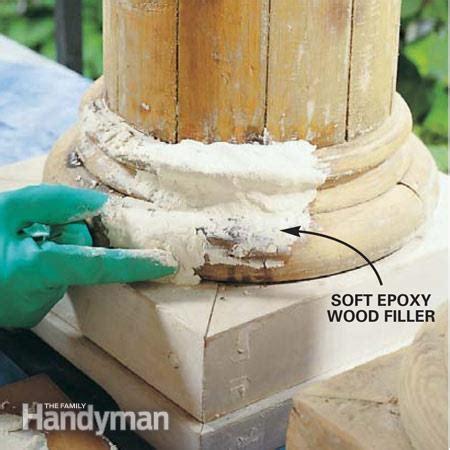 Repair Door Frame Wood Filler by Wood Epoxy Wood Pdf Plans
