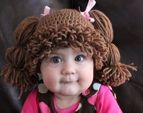 Crochet Pattern For Cabbage Patch Kid Hat | nellie s cozy place a cabbage patch funny
