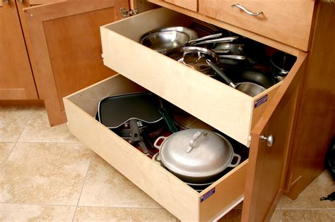Slide Out Drawers For Kitchen Cabinets by Pull Out Shelves Kitchen Pantry Cabinets Bravo Resurfacing