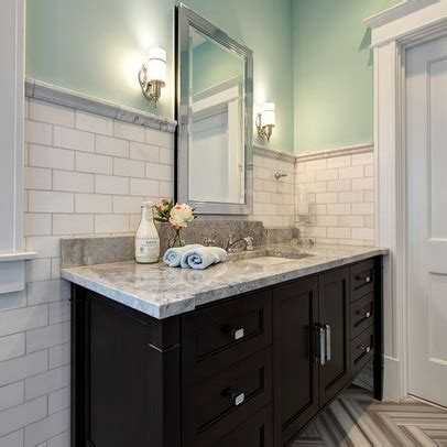 how high should wainscoting be in a bathroom high wainscot wrapped around vanity my vintage bathroom