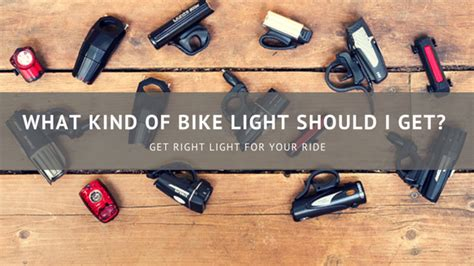 what type of should i get what of bike light should i get 187 spolite