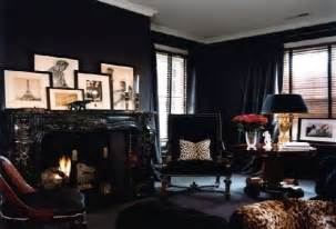Black Home Decor Black Furniture Wall And Room Interior Decorating Trends