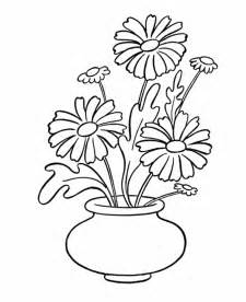 ranunculus in a flower vase coloring pages coloring pages
