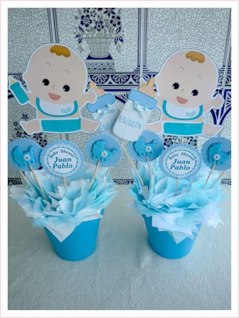 manualidades para baby shower 2 aprender manualidades es centro de mesa para baby shower con dibujo de bebe
