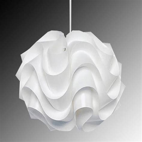 Modern White Pendant Light Modern Le Klint 172b Pendant Light White Plastic Shade Suspension L Lighting Ebay