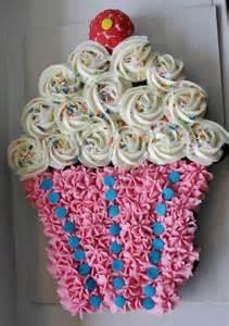 cupcake birthday cake best birthday cupcake cakes pull apart cake ideas