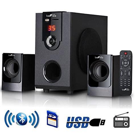 best 2 1 surround sound system review befree sound 2 1 channel surround sound