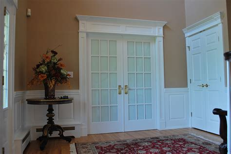 Raised Panel Wainscoting Lowes by Integrate Window And Door Trim With Wainscoting Panels