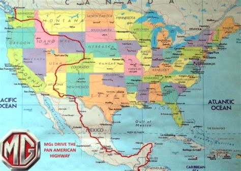 map of the pan american highway route map mg pan american highway 2015