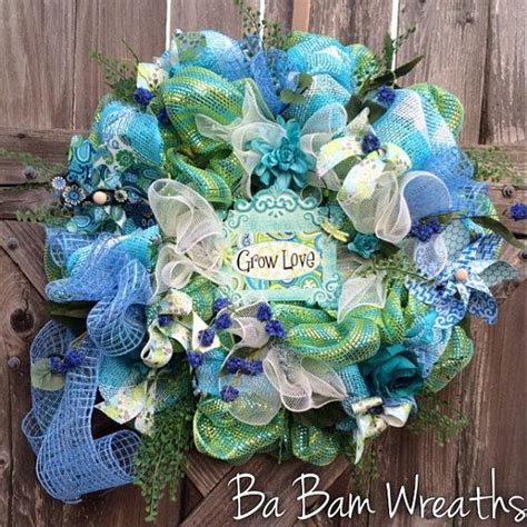 1110 best spring and summer wreaths images on pinterest spring 1658 best spring and summer deco mesh wreaths images on