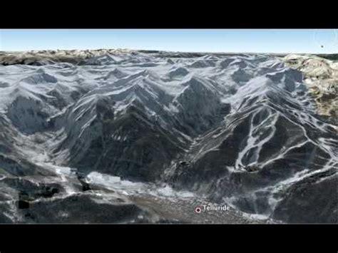 google earth flyover tour rocky mountains youtube