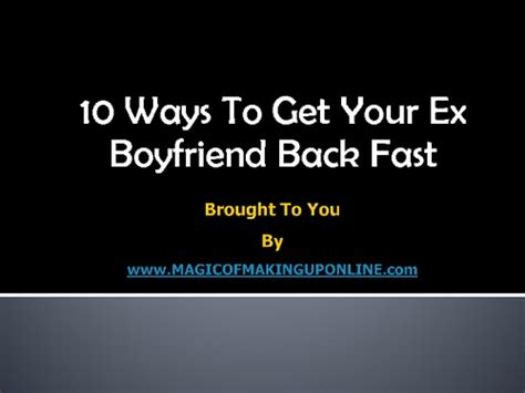 12 Ways To Get Your Boyfriend To Move In With You by Bring My Ex Back Wikihow How To Get Your Ex Boyfriend