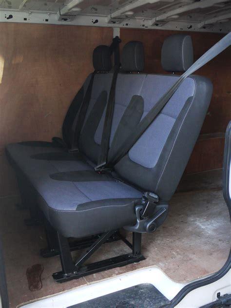 vivaro rear seats genuine oem rear bench seat and fixing kit vauxhall