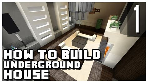 how to build underground house how to build an underground house in minecraft part 1