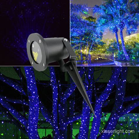 shower laser light blue garden laser light blue