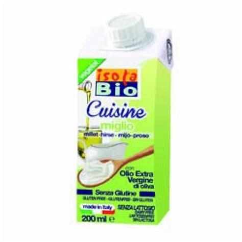 bio cuisine isola bio cuisine millet 200ml