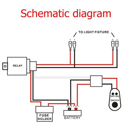 car wiring light bar wiring diagram harness relay car