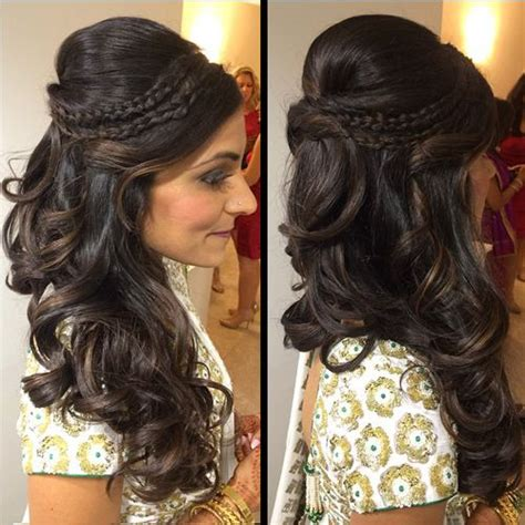 Best Hairstyles For 2017 In India by Best 25 Indian Wedding Hairstyles Ideas On
