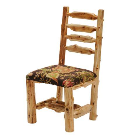 fireside lodge furniture 1613 cedar cut out log bench fireside lodge cedar cut out log chair with arms