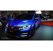 Honda Civic Type R Concept II Looks Awesome In Paris Live