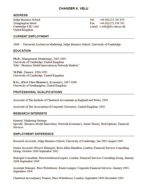 Format Of Lecturer Fresher Resume   BestSellerBookDB