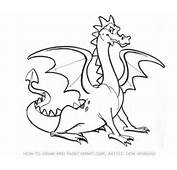 How To Draw A Dragon Step By Easy Car Tuning