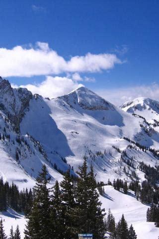 ski resort alta utah devils castle mt sugarloaf  mt baldy  iphoneitouch