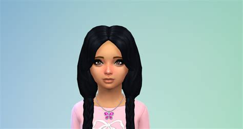 sims 4 child hair cc ilovesaramoon
