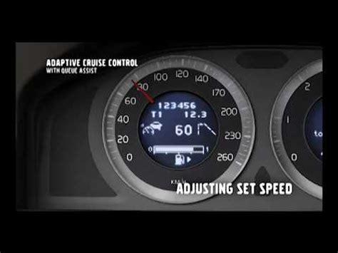 volvo  adaptive cruise control youtube