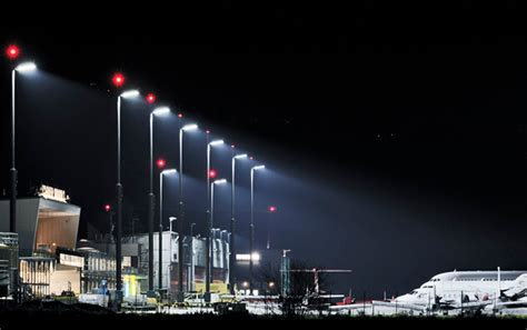 led technology lights led lighting technology lighting munich airport eneltec